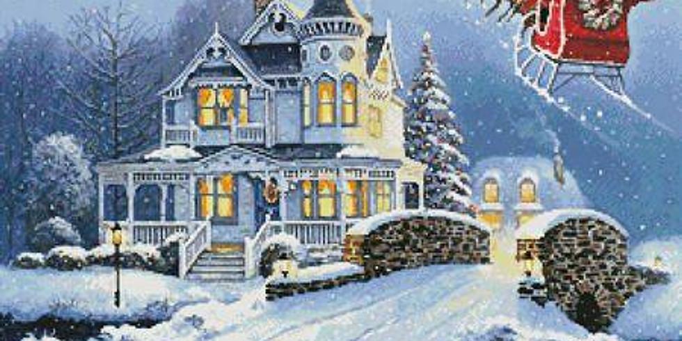 Magic Sleigh Ride / Christmas Aerial