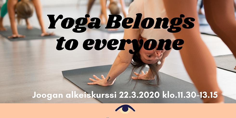 Yoga Belongs to Everyone // Joogan Alkeiskurssi // Open Doors