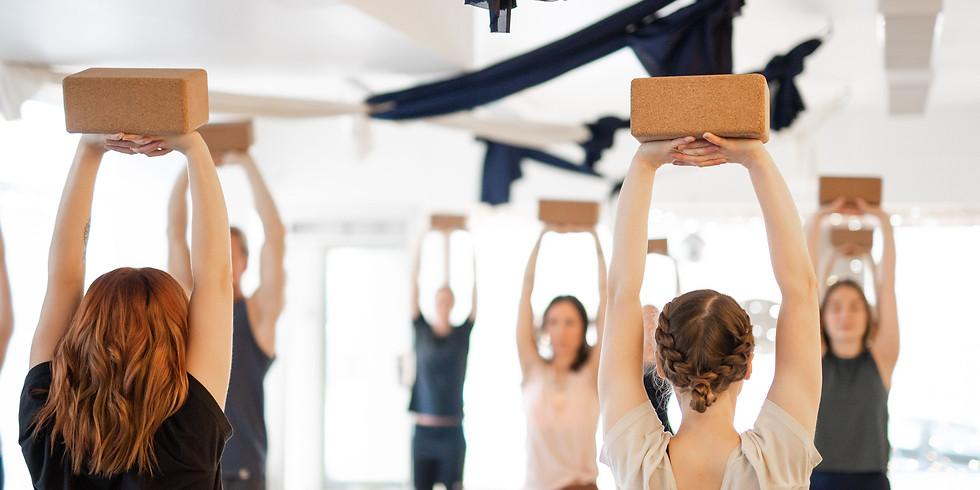 Katonah yoga 101 ° MAKSA MITÄ PYSTYT WORKSHOP
