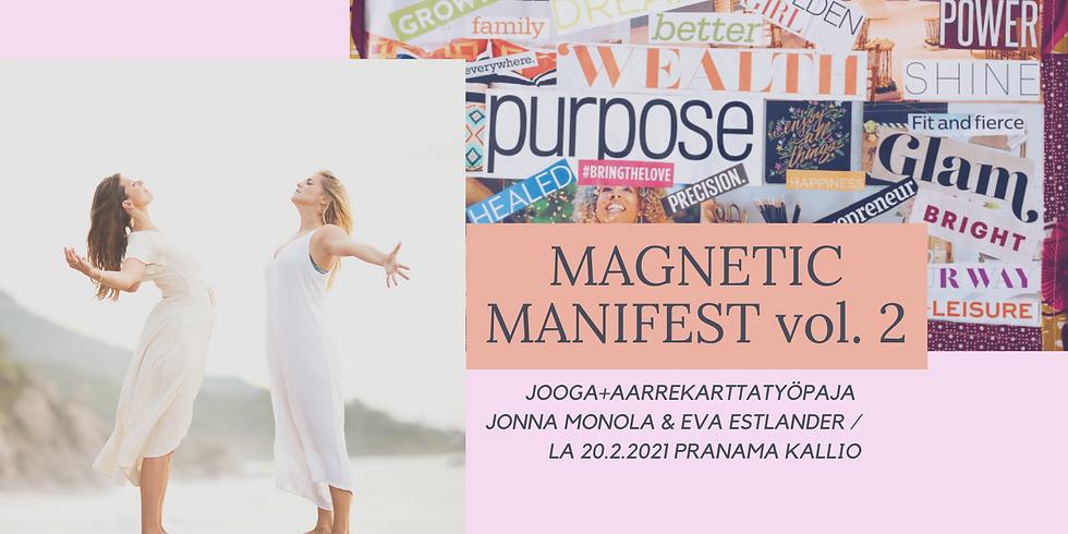 Magnetic Manifest vol. 2 // AARREKARTTATYÖPAJA