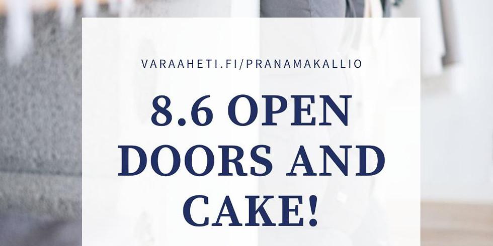 OPEN DOORS AND CAKE! Pranama Community day <3
