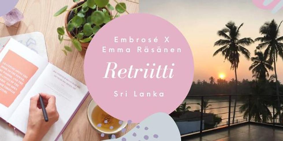 Embrosé x Emma Räsänen retriitti