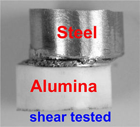 Diffusion Bonding Alumina Ceramic to Steel