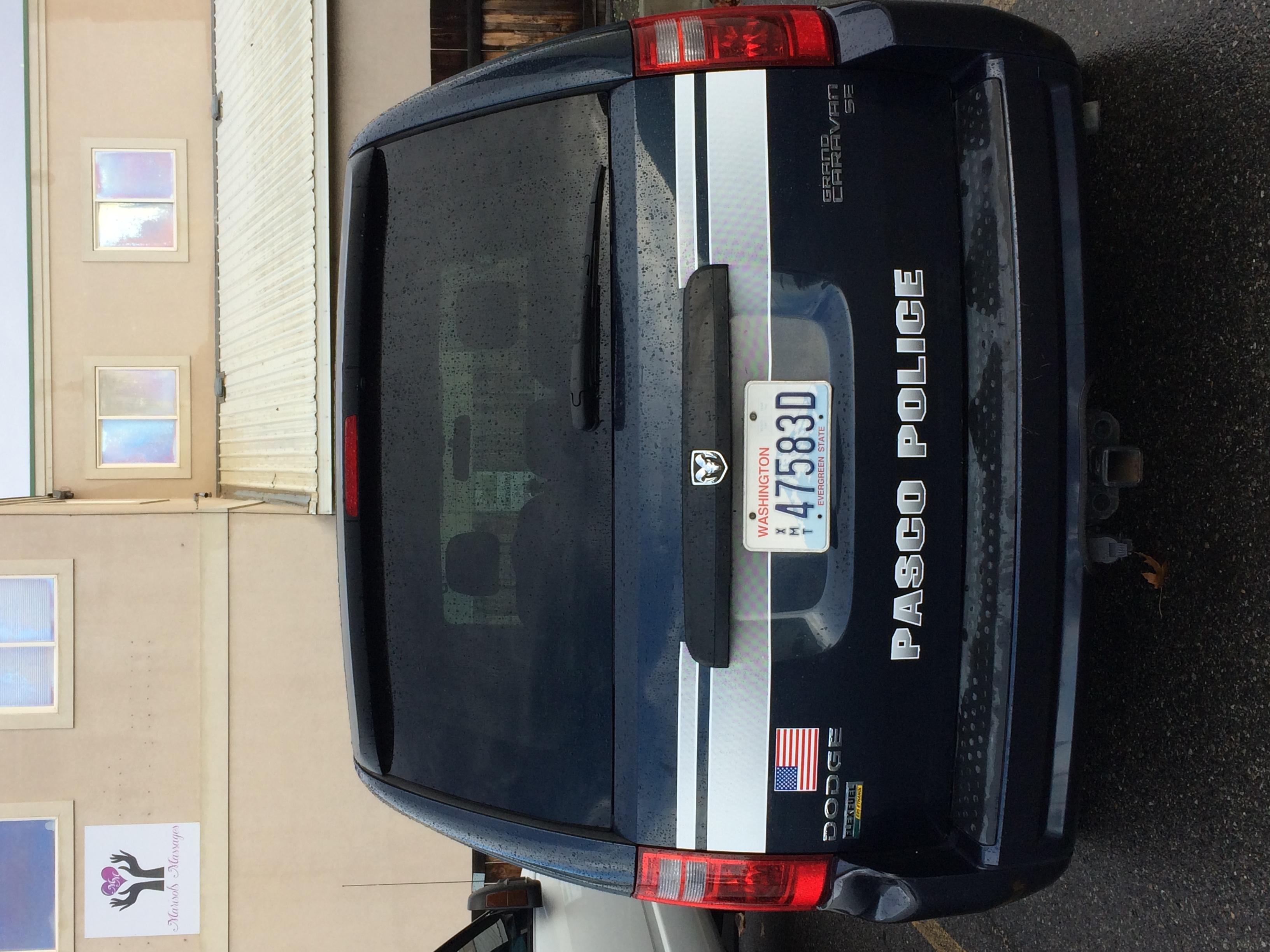 Pasco Police Evidence van rear.JPG