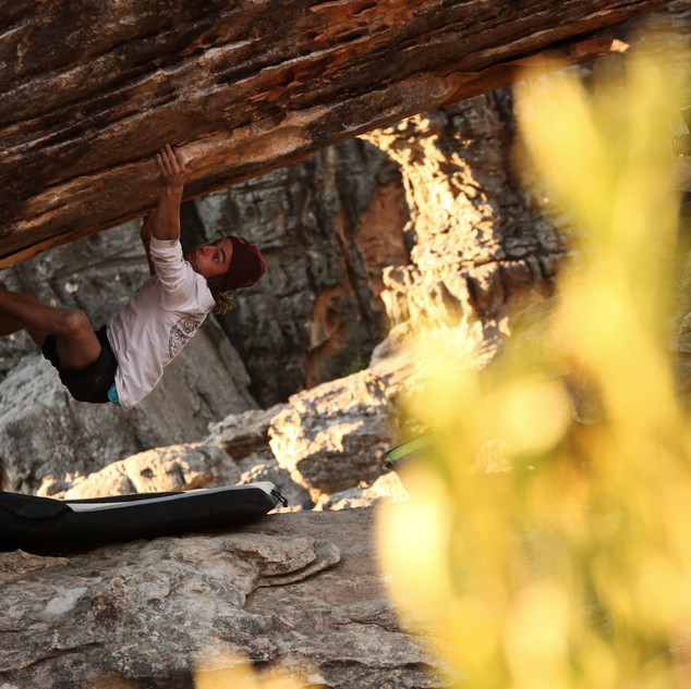 Nathan Withey (The Roof is on Fire - 6C+)