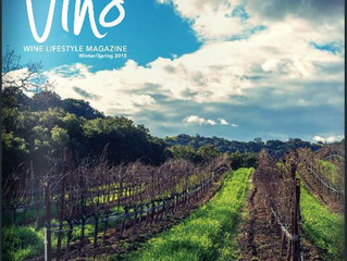 Read about us in Vino Magazine