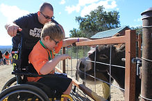 place for children and young adults who have learning disabilities such as autism and down syndrome, rainbow garden
