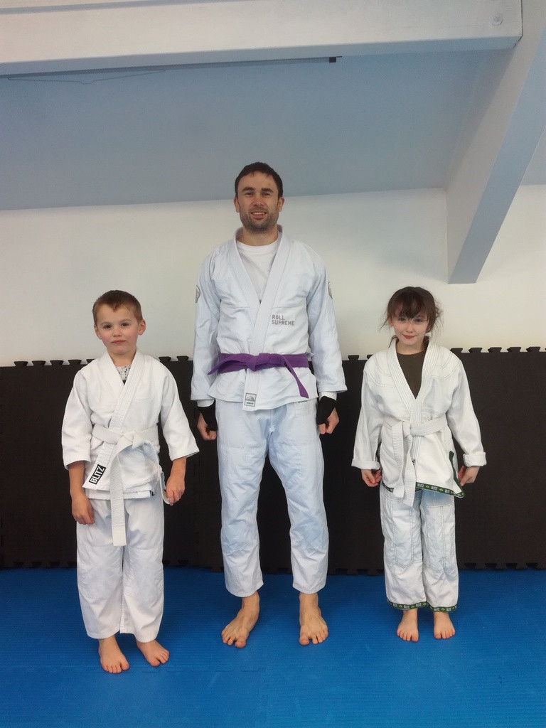 Kids with confidence both on and off the BJJ mats