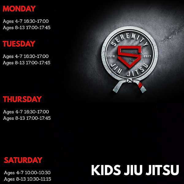 Kids timetable