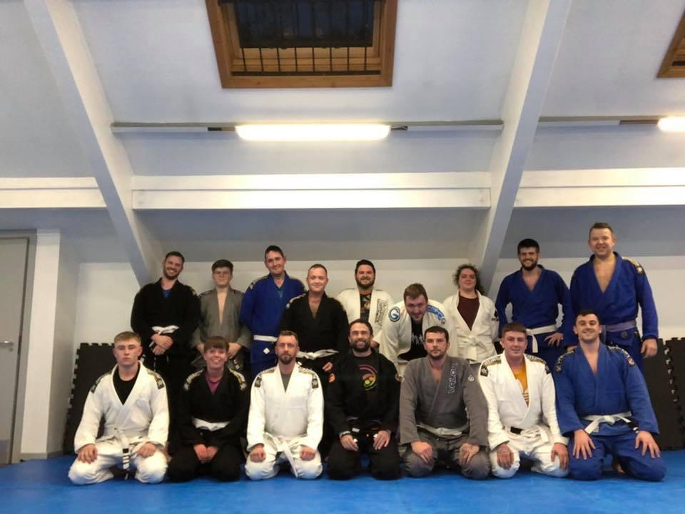 Serenity Jiu Jitsu Team wearing gis