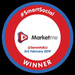 #SmartSocial [Bade designed by Dylan Moore of Aqua Design Group]