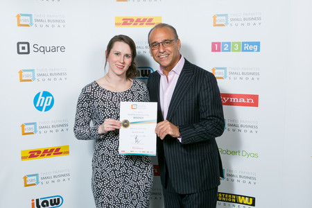 Anne Haswell and Theo Paphitis
