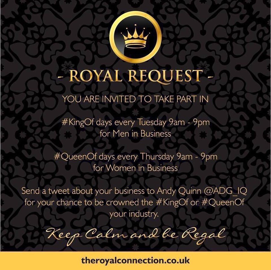 Royal Connection Twitter Competition