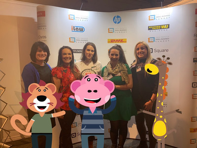 SBS Club Hub small businesses with Strawberry Monkey