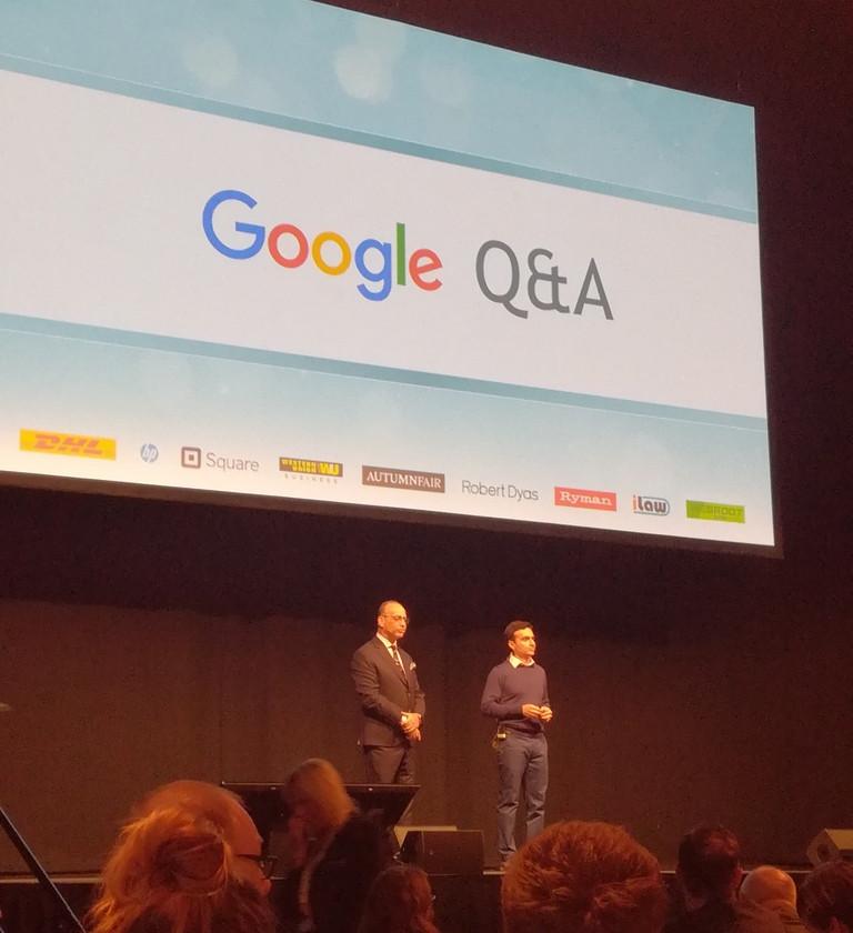 Google at SBS event 2019