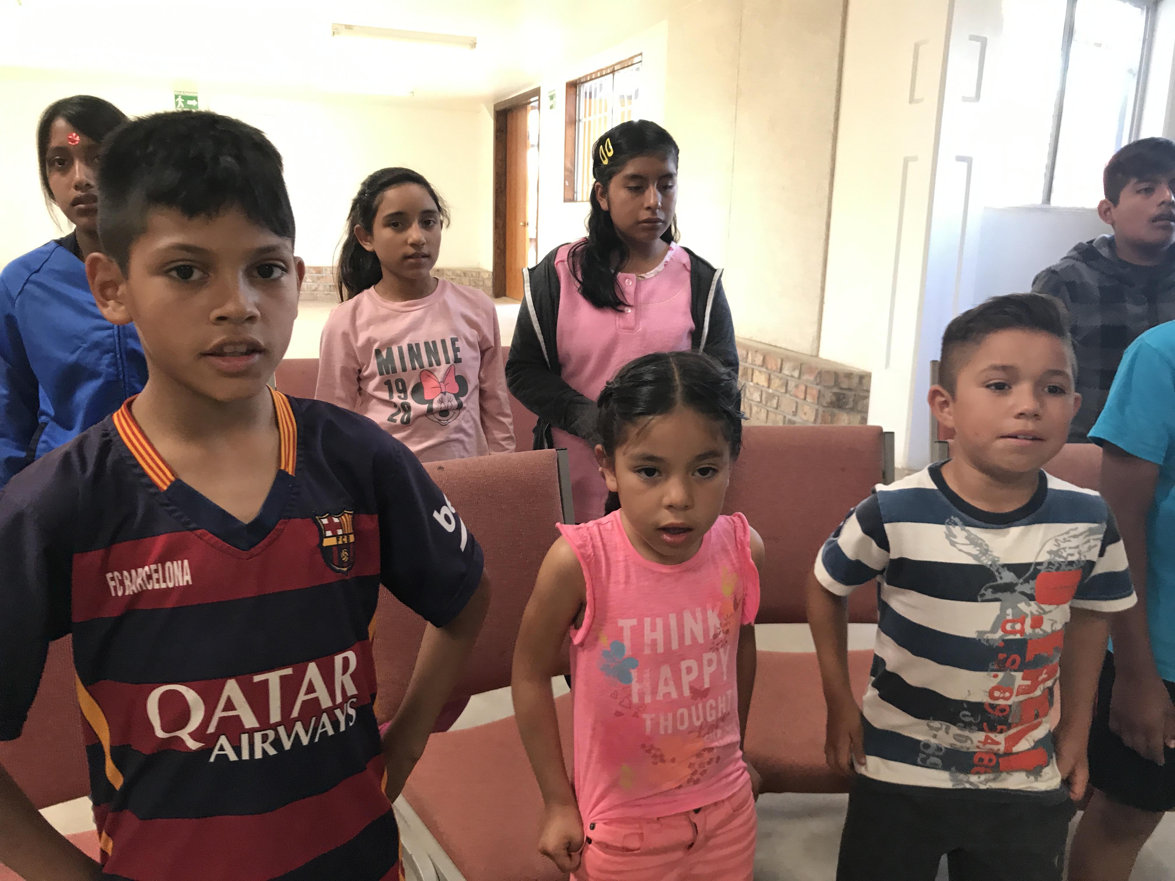 Reino orphanage rehearsal