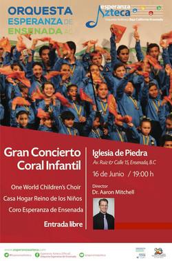 Concert Flyer, Ensenada Azteca