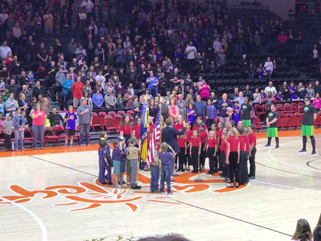 OWCC and the Harlem Globetrotters