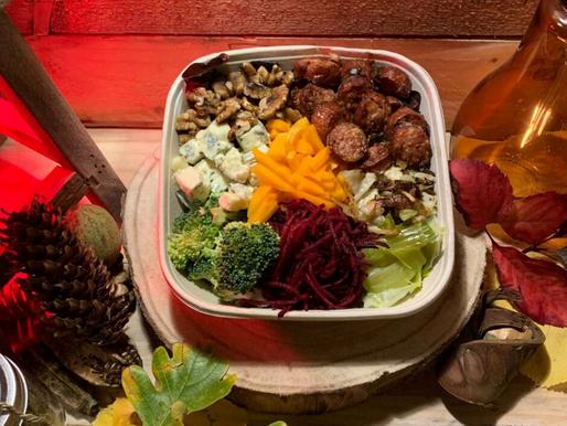 Courges, noix, champignons ...Les ingrédients d'automne sont de retour chez MSB ! 😍
