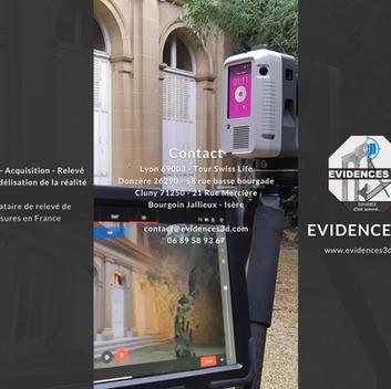 Evidences 3D - Relevé 3D & Urgence patrimoine