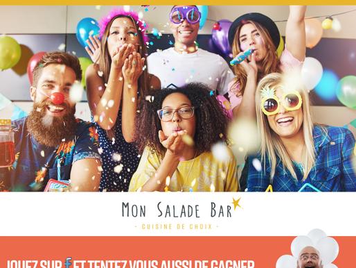 VOTRE RESTAURANT MSB - Mon Salade Bar Lyon Vaise  FÊTERA SES 1 AN LE JEUDI 4 JUILLET 2019 ! 🤩🎂
