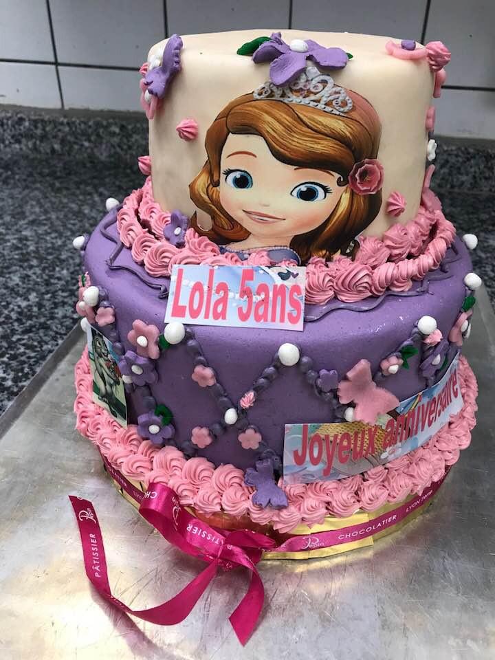 Gâteau Princesse Lyon