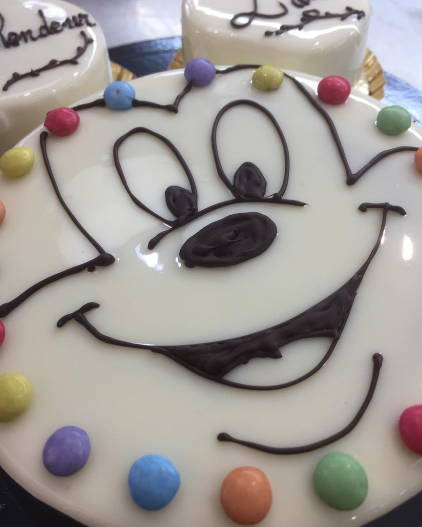 Gâteau Mickey Lyon