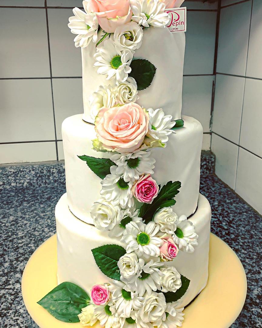 Gâteau mariage Lyon