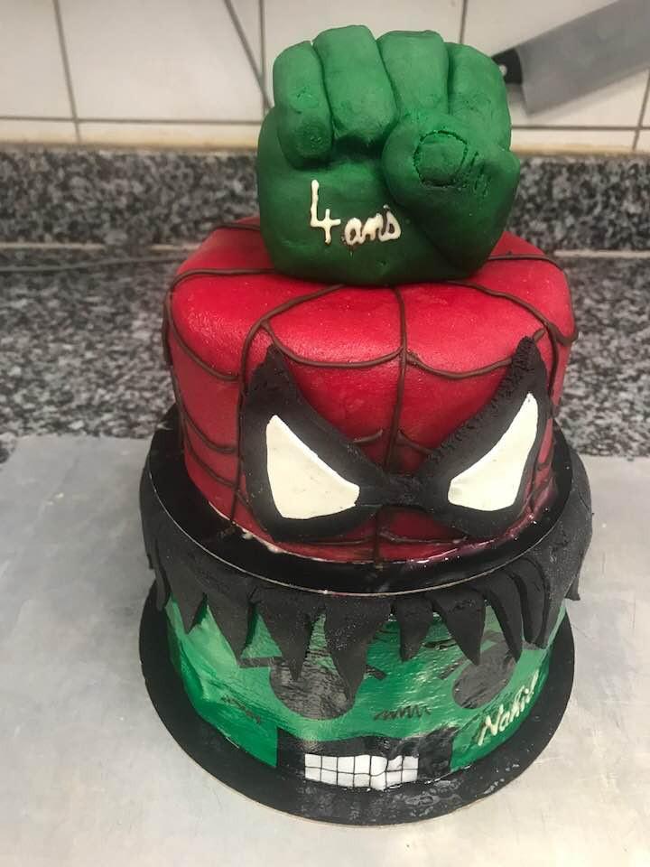 Gâteau Marvel Lyon