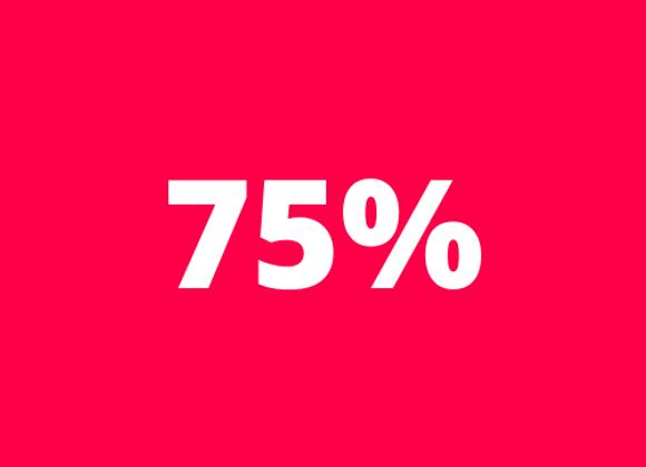 Tablette chocolat - Equateur 75%