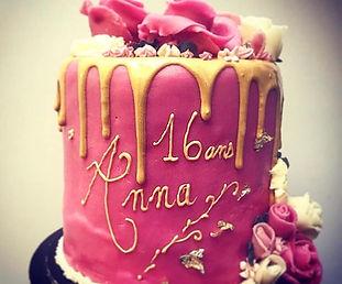 Gâteau d'anniversaire en ligne