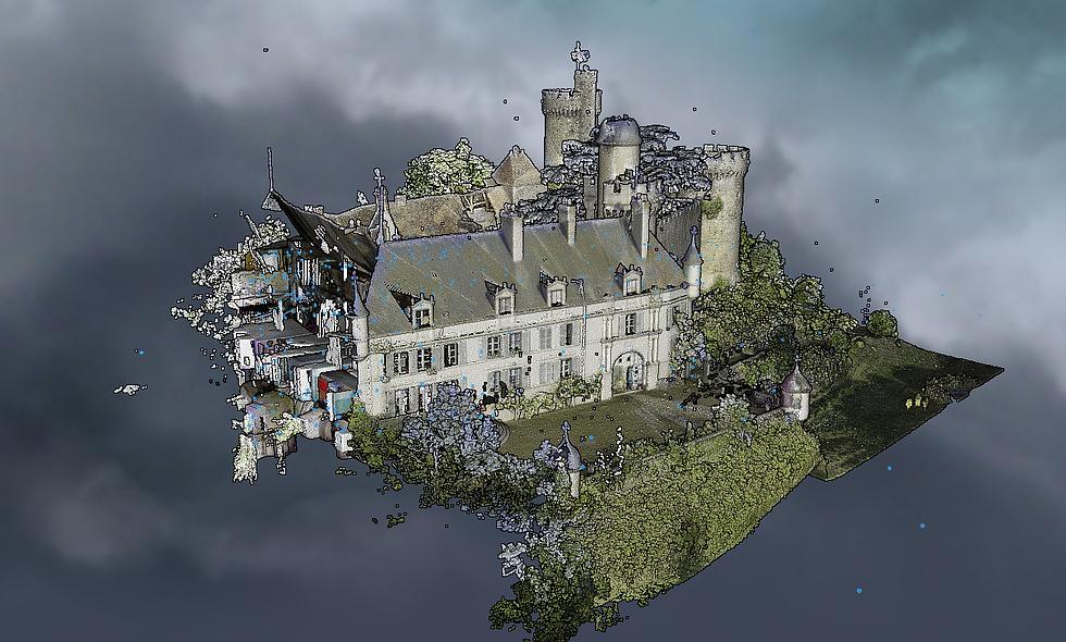 Viewer 360 - Château de Veauce