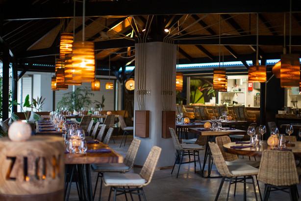 Zion St-Barth restaurant