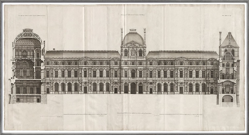 The Louvre 1659