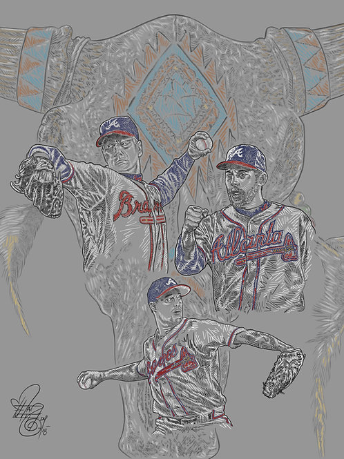 Maddux, Glavine and Smoltz: The Braves and the Bold