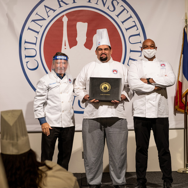 Brown, Cody L - Bronze, Cum Laude - ASSOCIATE OF APPLIED SCIENCE DEGREE IN CULINARY ARTS
