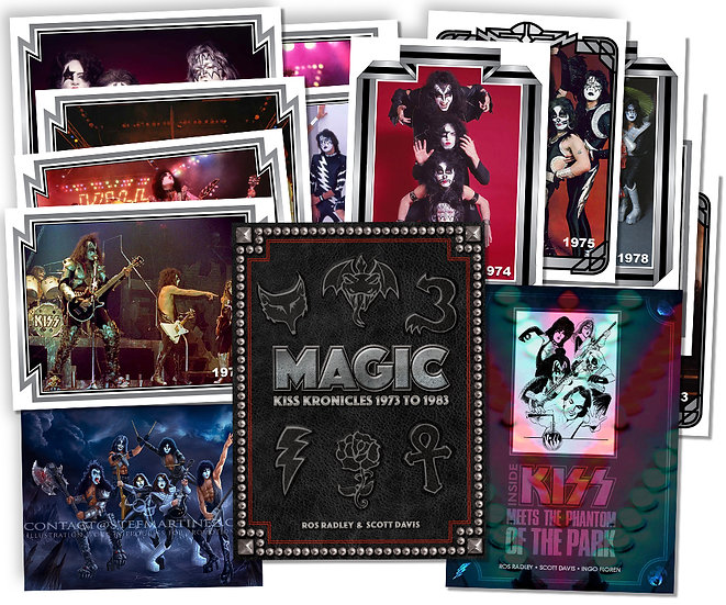 DELUXE EDITION:  MAGIC - KISS KRONICLES 1973 TO 1983