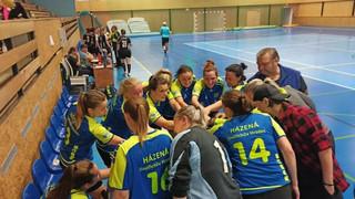 JIHOČESKÁ LIGA ženy B 4.10.2020 HC Milevsko / Házená J. Hradec