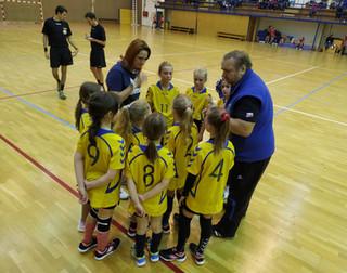 JIHOČESKÁ LIGA Minižactvo 3.10.2020 TJ Loko Č. Budějovice / Házená J. Hradec