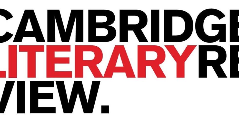 Cambridge Literary Review Reading