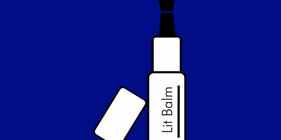 Lit Balm: An Interactive Livestream Reading Series