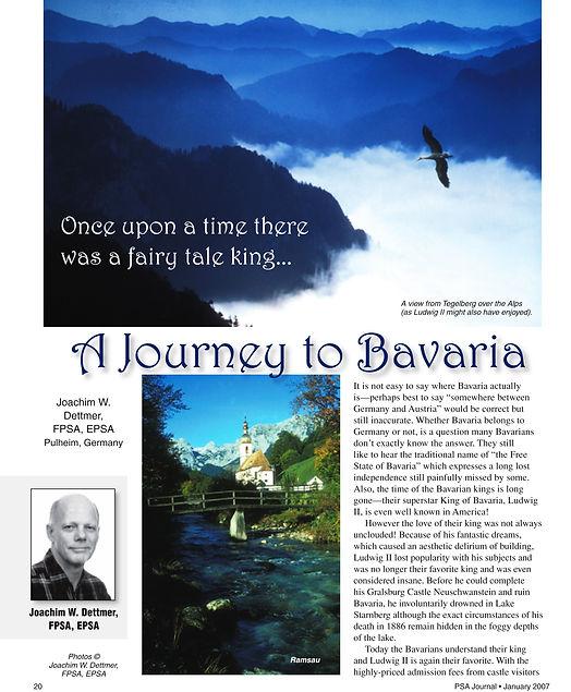Eine Reise nach Bayern