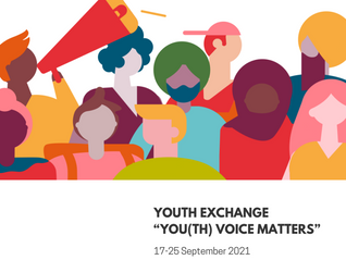 """Youth Exchange """"YOU(TH) VOICE MATTERS"""""""