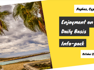 """Youth Exchange """"Enjoyment on Daily Basis"""" in Paphos, Cyprus"""