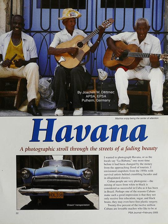 Havanna Cuba Fotografie Dettmer