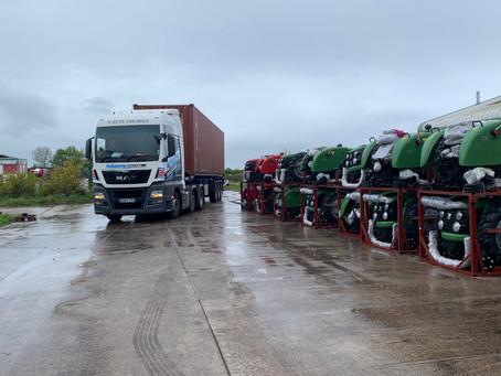 Siromer 254 tractors arrive