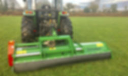 flail mower reversible
