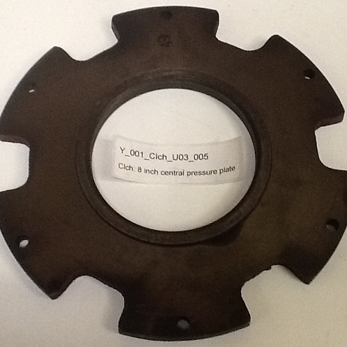 8 inch central pressure plate