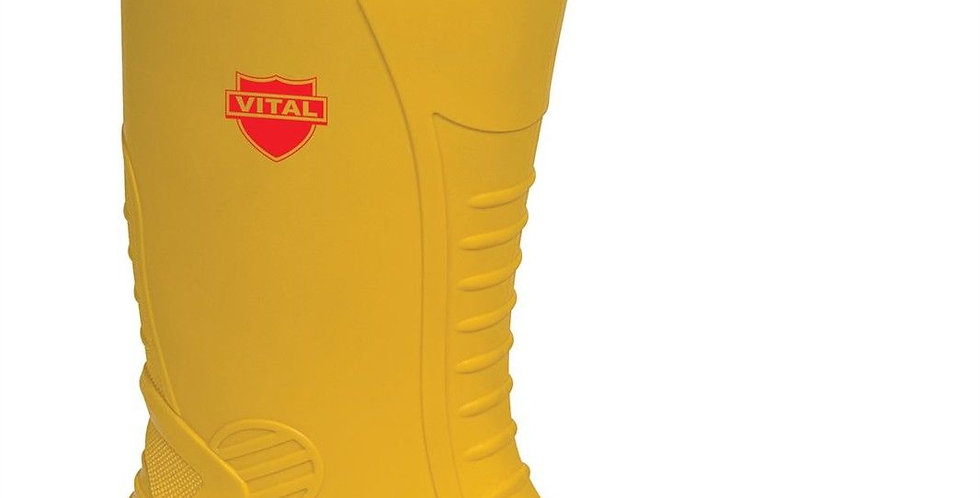 Yellow Wellies, Steel Toe Capped Boots