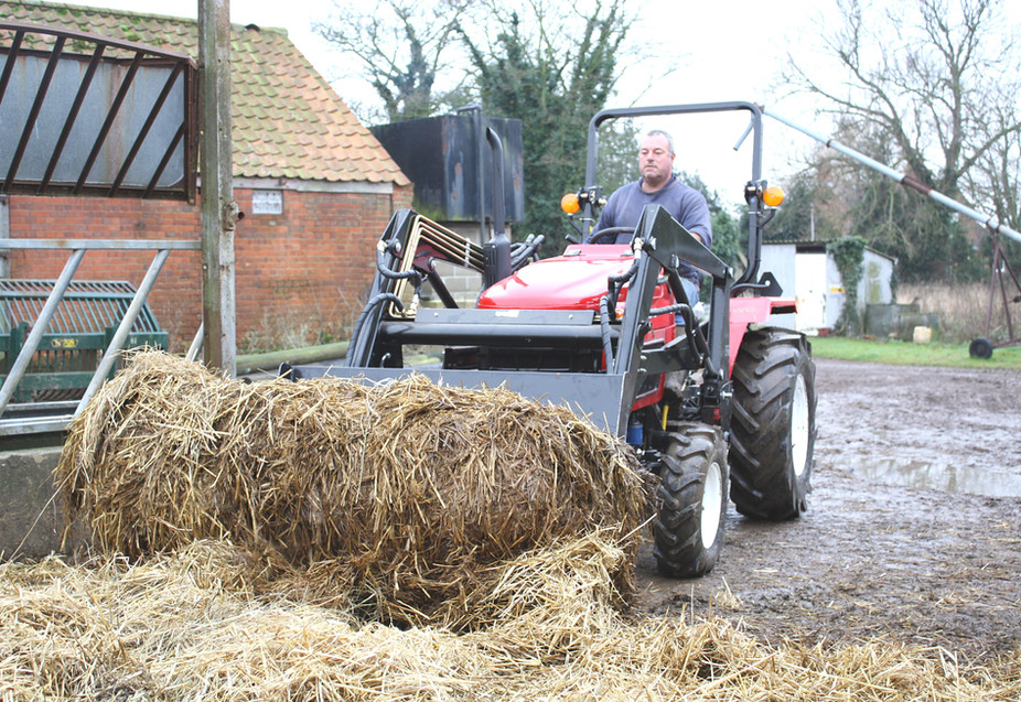 Mucking out